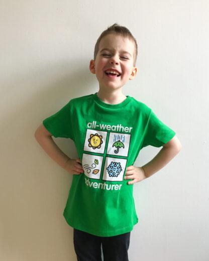 All Weather Adventurer Kids Unisex Clothing T-shirt