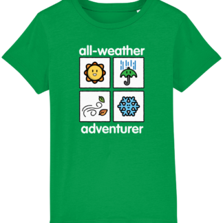 All Weather Adventurer Kids Unisex ClothingT-shirt