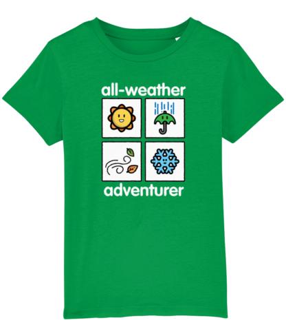 All Weather Adventurer Kids Unisex ClothingT-shirt