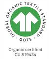 GOTS Logo Organic Certified