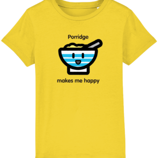 Unisex Clothes Happy Porridge Kids T-shirt
