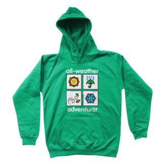 adventurer unisex kids hoodie