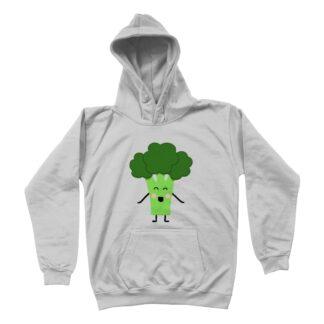 broccoli unisex kids hoodie