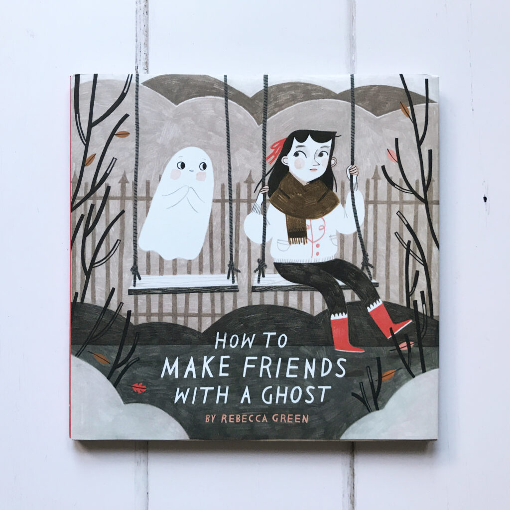 Halloween picture books how to make friends with a ghost