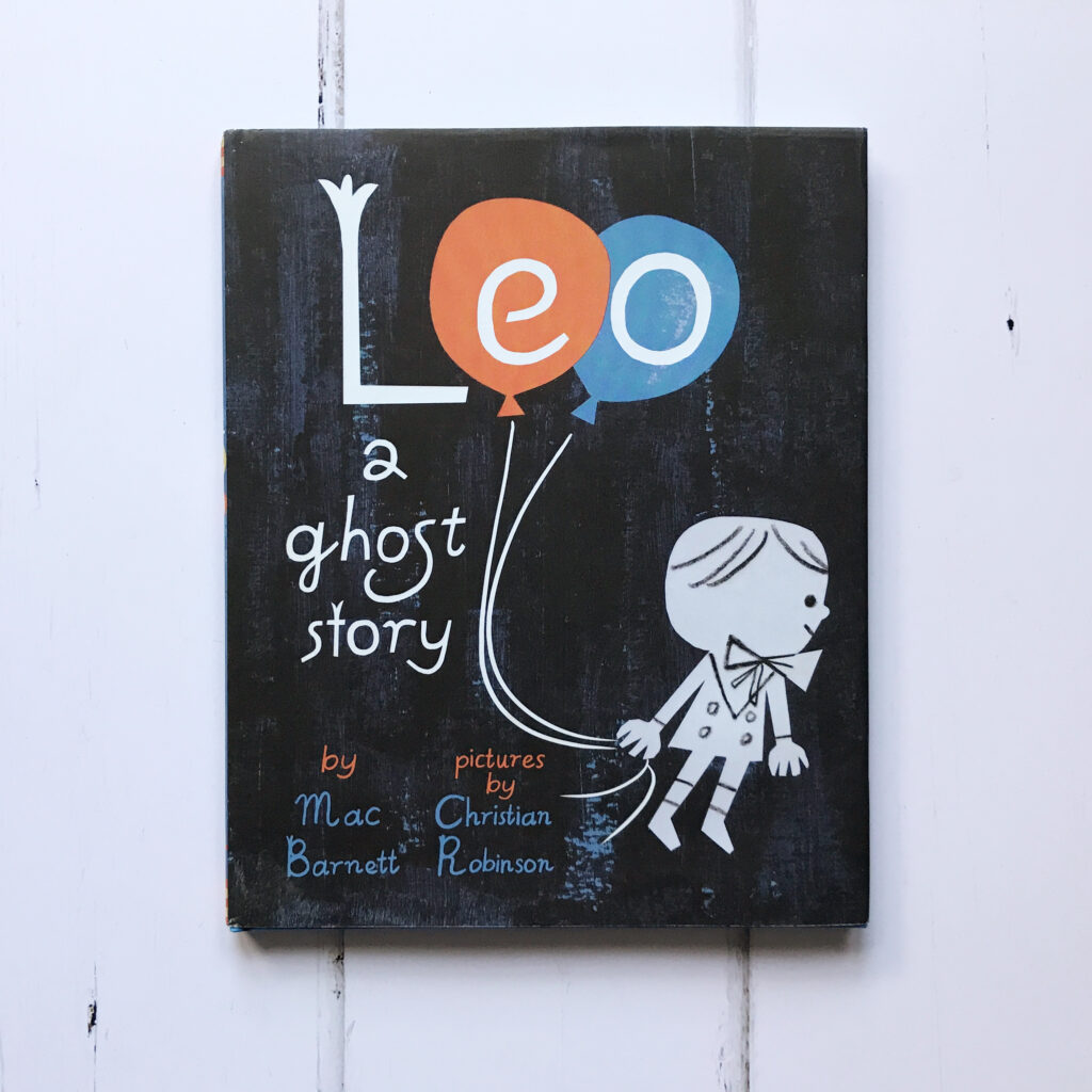 Halloween picture books Leo a ghost story