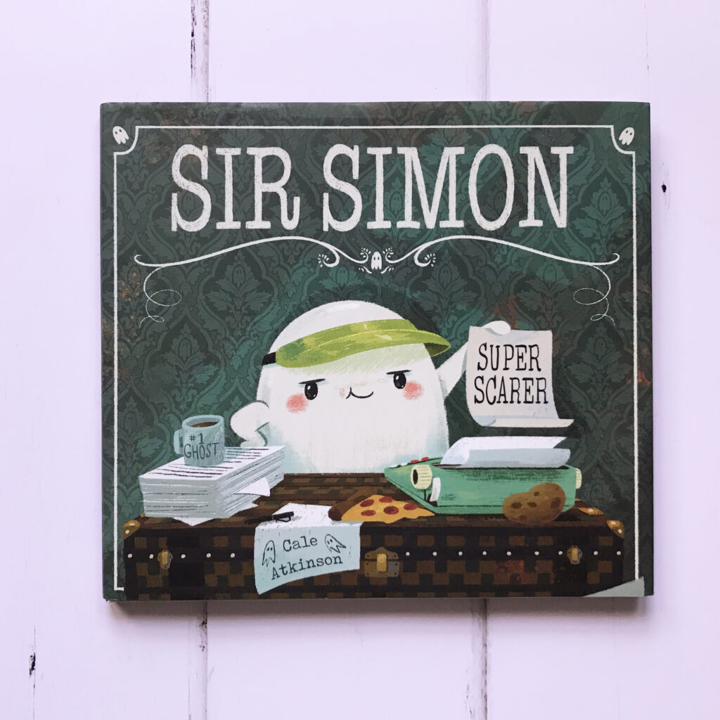 Halloween picture books Sir Simon Super Scarer