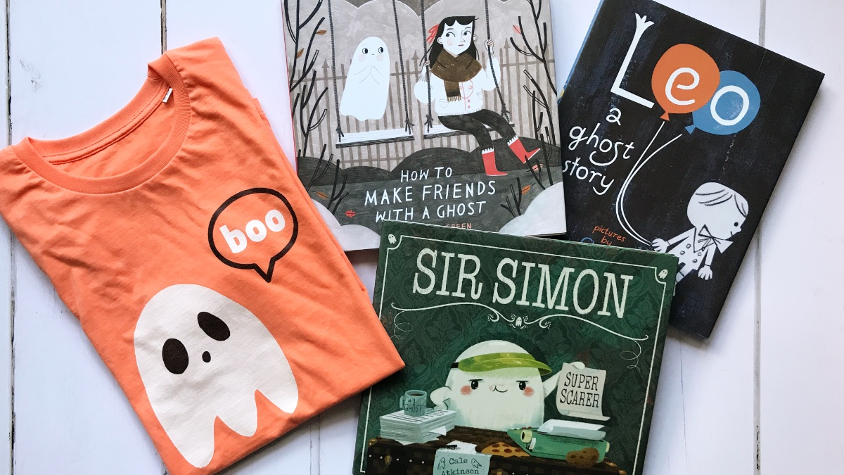 Favourite Kids Books About Ghosts