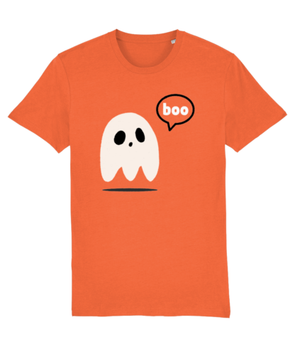 Adult Halloween Ghost T-shirt