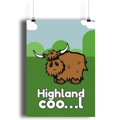 Highland Cool Cow Print