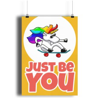 Just Be You Unicorn Print