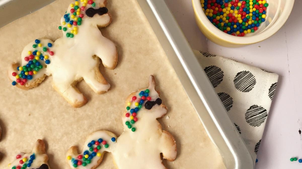 Unicorn Christmas Cookies